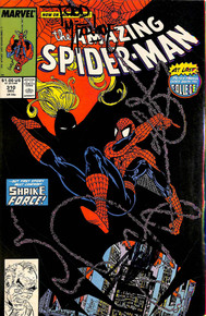 Stan Lee & Todd McFarlane Signed The Amazing Spider-Man #310 Comic BAS #E35328