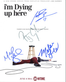 I'm Dying Up Here (Melissa Leo, +3) Authentic Signed 8X10 Photo BAS #A03777