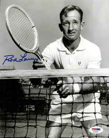 Rod Laver Tennis Authentic Signed 8x10 Photo Autographed BAS/PSA 3