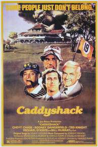 Chevy Chase Caddyshack 24x36 Unsigned Poster