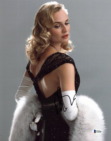 Diane Kruger Inglourious Basterds Authentic Signed 11x14 Photo BAS #G22360