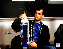 Tom Hanks Big Authentic Signed 11x14 Photo Autographed BAS #G74186
