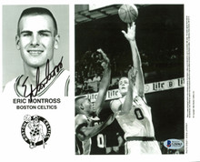 Celtics Eric Montross Authentic Signed 8x10 Photo Autographed BAS #G56963