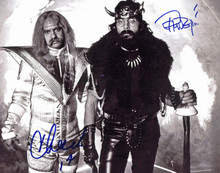 Cheech Marin & Tommy Chong Next Movie Authentic Signed 8x10 Photo BAS #B61891