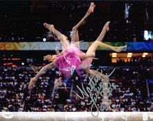 "Nastia Liukin USA Gymnastics ""2008 Gold"" Authentic Signed 11x14 Photo JSA F77425"