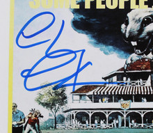 Chevy Chase Caddyshack Authentic Signed 12x18 Mini Movie Poster BAS Witnessed 3