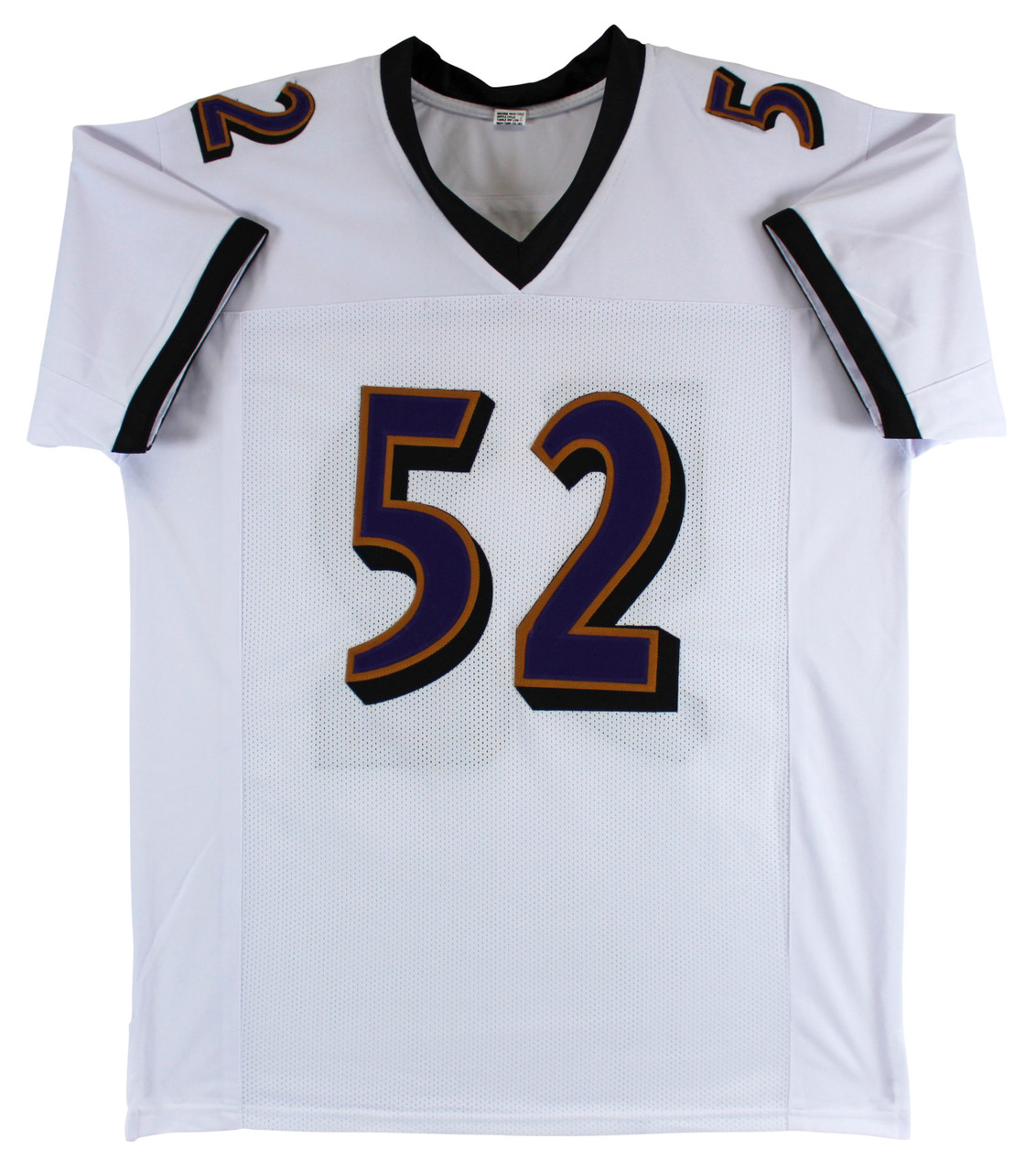 hot sale online fa367 add16 Ravens Ray Lewis Authentic Signed White Jersey Autographed PSA/DNA ITP