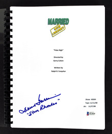 David Garrison Signed Married With Children Poke High TV Script BAS #H14656