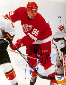 Red Wings Tomas Holmstrom Authentic Signed 8x10 Photo Autographed PSA #U66589