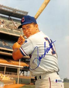 Cubs Ron Santo Authentic Signed 8x10 Photo Autographed BAS 1