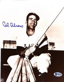Dodgers Cal Abrams Authentic Signed 8x10 Photo Autographed BAS 1