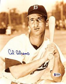 Dodgers Cal Abrams Authentic Signed 8x10 Photo Autographed BAS 2