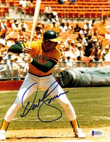 Athletics Dave Kingman Authentic Signed 8x10 Photo Autographed BAS 1