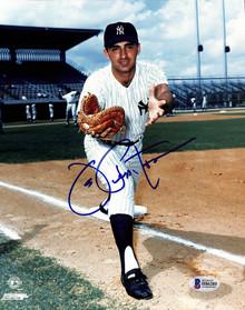 Yankees Joe Pepitone Authentic Signed 8x10 Photo Autographed BAS 1