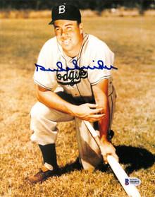 Dodgers Duke Snider Authentic Signed 8x10 Photo Autographed BAS 3