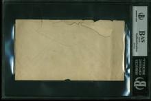 Al Simmons 3.5x6.5 Hand Written Envelope Postmarked June 4 1930 BAS Slabbed