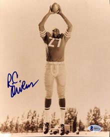 49ers R.C. Owens Authentic Signed 8x10 Photo Autographed BAS