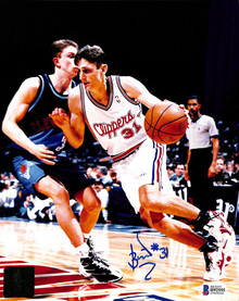 Clippers Brent Barry Authentic Signed 8x10 Photo Autographed BAS