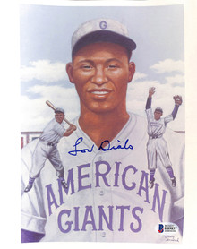 American Giants Lou Dials Authentic Signed 8x10 Photo Autographed BAS #H89837