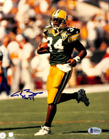 Packers Edgar Bennett Authentic Signed 8x10 Photo Autographed BAS 2