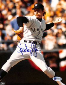 Yankees Sparky Lyle Authentic Signed 8x10 Photo Autographed BAS