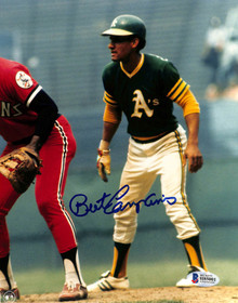 Athletics Bert Campaneris Authentic Signed 8x10 Photo Autographed BAS 1