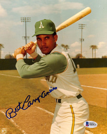 Athletics Bert Campaneris Authentic Signed 8x10 Photo Autographed BAS 2