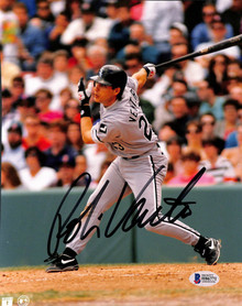 White Sox Robin Ventura Authentic Signed 8x10 Photo Autographed BAS #H86771