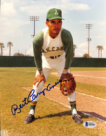 Athletics Bert Campaneris Authentic Signed 8x10 Photo Autographed BAS 3