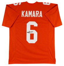 Tennessee Alvin Kamara Authentic Signed Orange Jersey Autographed JSA Witness