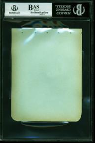 Jane Wyman Johnny Belinda Authentic Signed 4.5x5.75 Album Page BAS Slabbed