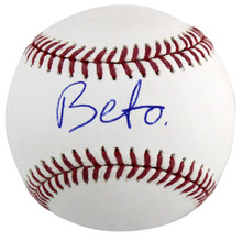 Beto O'Rourke Authentic Signed Oml Baseball Presidential Candidate BAS #H13117