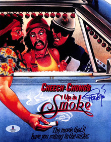 Tommy Chong Up in Smoke Authentic Signed 8x10 Photo Autographed BAS #B03704