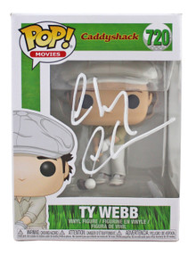 Chevy Chase Caddyshack Signed Funko Pop Vinyl Figure w/ White Signature BAS