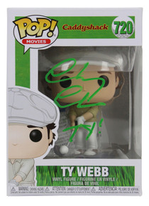 """Chevy Chase Caddyshack """"Ty!"""" Signed #720 Funko Pop Vinyl Figure BAS #P94309"""