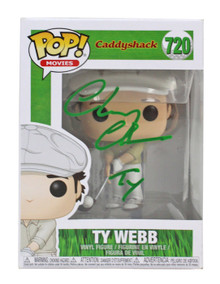 """Chevy Chase Caddyshack """"Ty"""" Signed #720 Funko Pop Vinyl Figure BAS #P94193"""