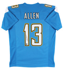 Chargers Keenan Allen Authentic Signed Powder Blue Jersey JSA Witness