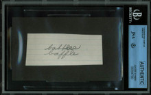 James Dean 1.5x3.5 Handwriting Sample from 5th Grade Notebook JSA Slab #8947580