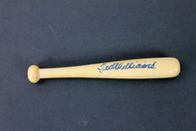 Red Sox Ted Williams Authentic Signed 6 Inch Mini Baseball Bat PSA/DNA #AA03060