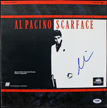 Al Pacino Scarface Authentic Signed Laserdisc Cover PSA/DNA #J00693
