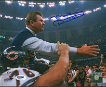 Bears Mike Ditka Authentic Signed 8x10 Photo Autographed PSA/DNA #AB32676