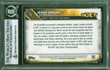 Jason Jordan Authentic Signed 2016 Topps WWE #19 Auto Card BAS Slabbed