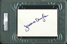 Illeana Douglas Authentic Signed 4X6 Index Card Autographed PSA/DNA Slabbed