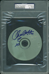 Charlotte Church Authentic Signed Cd Autographed PSA/DNA Slabbed