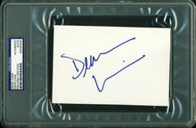 Dean Cain Authentic Signed 4X6 Index Card Autographed PSA/DNA Slabbed