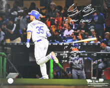 """Dodgers Cody Bellinger """"1st Career Cycle"""" Signed 16x20 Photo LE #4/35 Fanatics"""