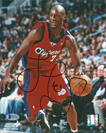 Clippers Lamar Odom Authentic Signed 8x10 Photo Autographed BAS #D07363