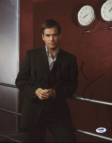 Michael Weatherly NCIS Authentic Signed 11x14 Photo Autographed PSA/DNA #K63284