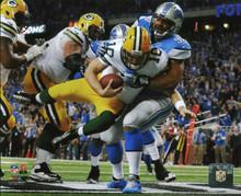 Packers Matt Flynn 8x10 PhotoFile Diving Photo vs Lions Un-signed