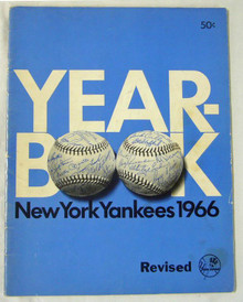 New York Yankees Authentic Official 1966 Program Yearbook